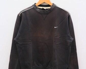 Vintage NIKE Sportswear Black Sweater Sweatshirt Size M