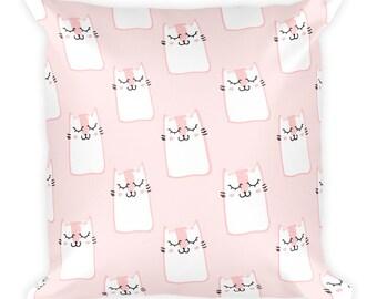 Cute Kitten - Square Pillow
