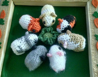 Crochet Baby Guinea Pig Plush