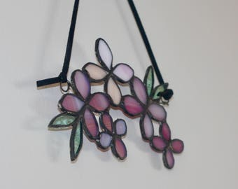 Stained Glass Cherry Blossom