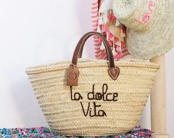 """Basket Original Marrakech """"La Dolce Vita"""""""