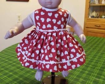American Girl Bitty Baby Dress (SKU m127)