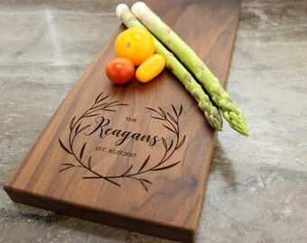 Personalized Cheese Board, Serving Board, Bread Board, Custom, Engraved, Wedding Gift, Housewarming Gift, Anniversary Gift, Engagement #15