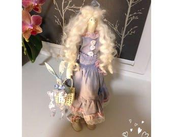 Tilda Doll Handmade Doll Textile doll Tilda Cloth Doll Tilda doll Iasmina Rag Doll