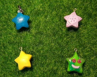 Small stars charms, keychain, necklace, bracelet, gift