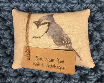 Maine Balsam Pillow Bluejay