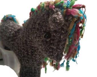Crochet Horse Plushie