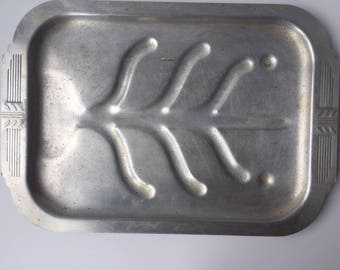 Art Deco Tin Serving Tray
