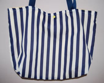 Handmade Fabric Tote Bag - perfect for the beach, work, shopping!