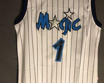 Penny Hardaway Orlando Magic Jersey #1 Throwback Basketball Stitched White NWT