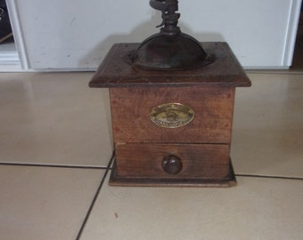 Old peugeot freres coffee grinder