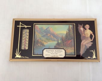 Advertising Thermometer Salesman Sample 1950 in original box