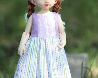 Littlefee -YOSD similar sized dolls  summer dress