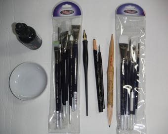 Set of Chinese ink painting