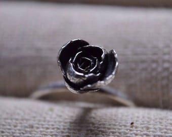 Succulent Rosette Ring Size 7.25