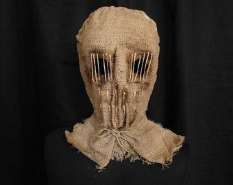 "Mask Scarecrow ""Worm"", horror, halloween, masquerade, free shipping"
