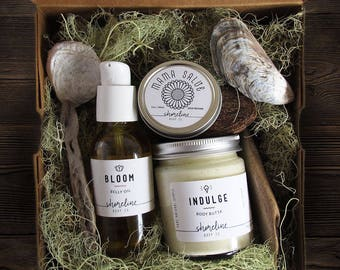 Pregnancy Gift Set ~ Unique New Mom Gifts ~ Gift Set for New Mom ~ New Mom Gift Basket ~ Boho Babyshower Gift ~ Pregnancy Gift ~ Box