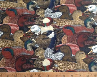29 inches of duck cotton fabric