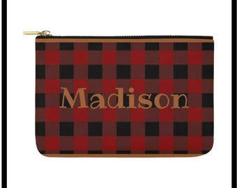 The Madison Custom Makeup Pouch