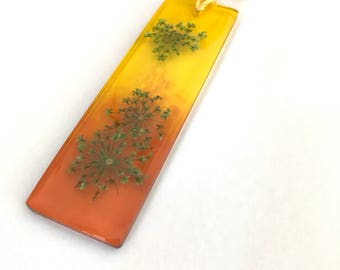 Handmade Bookmark - Amber