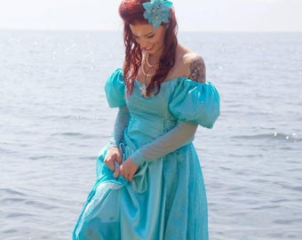 Ariel Inspired Gown