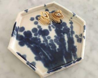 Hexagon Catchall Dish
