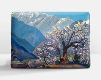 "Laptop skin (Custom size). Nicholas Roerich, ""Krishna (Spring in Kulu)"". Laptop cover, HP, Lenovo, Dell, Sony, Asus, Samsung etc."