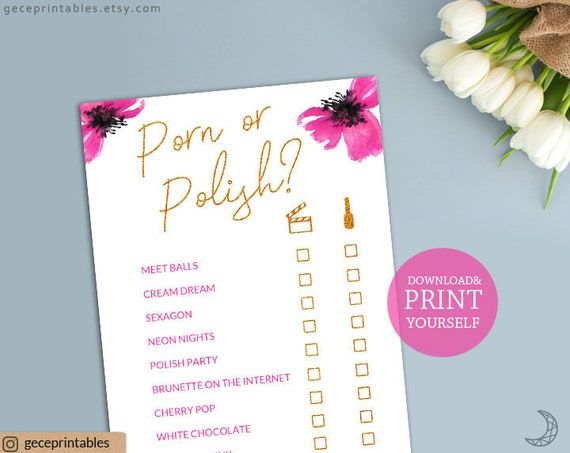 Porn or polish game printable games pdf bridal shower games pink il570xn solutioingenieria Images