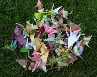 50 Origami Cranes