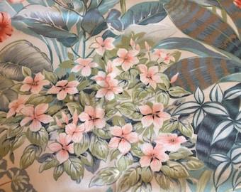 "A Crowson fabric ""Amalfi"" design/Vintage/Retro Fabric 1980's"