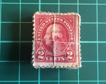 50 - vintage pre-cancelled 2 cents US postage bundle stamps vintage (y.1923)