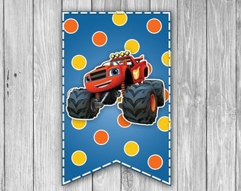 Blaze and the Monster Machines Banner (Digital)
