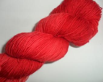 """100gm 4ply Handpainted Merino Single Ply Yarn """"Verbena"""""""