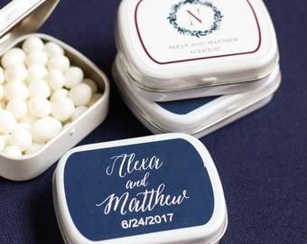 Wedding mints Etsy