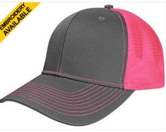 Sweet Caps Twill Mesh Adjustable Trucker Hat
