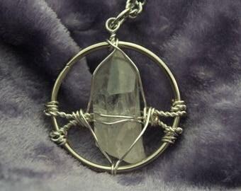 Illumination Quartz Crystal Pendant | 13