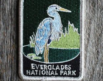 Everglades National Park Souvenir Patch Traveler Series Iron-on Florida