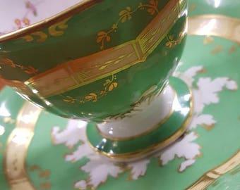 Rockingham Antique Cup & Saucer