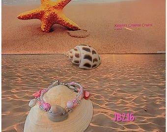 Layered Sea Shell Bracelet