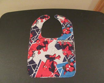 "Baby/ Toddler Bib ""Spiderman"""