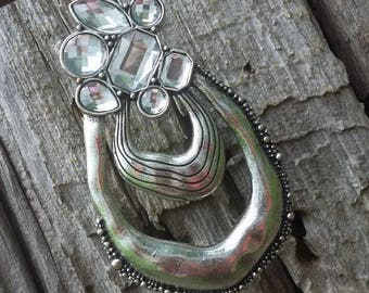 Silver Bling large Pendant