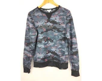 ADIDAS NEO Long Sleeve Sweatshirt Small Size Nice Design