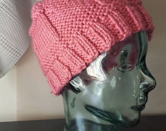 Pink Winter Cap