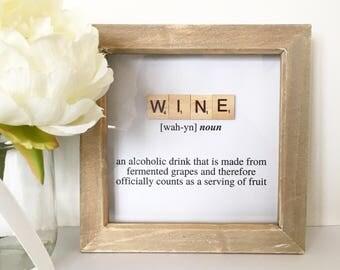 Dictionary Definition Frame - Scrabble Frame - Scrabble Art - Box Frame - Home Decor - & Scrabble frame | Etsy Aboutintivar.Com