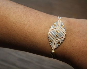 Ethnic bracelet Pastel
