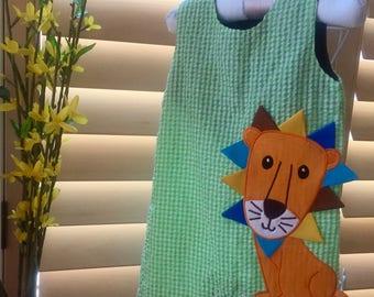 Handmade Baby Seersucker JONJON suit