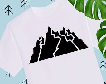 Mountain svg Adventure svg Mountains svg dxf camping svg files for Cricut Silhouette dxf svg cutting file svg files travel svg dxf