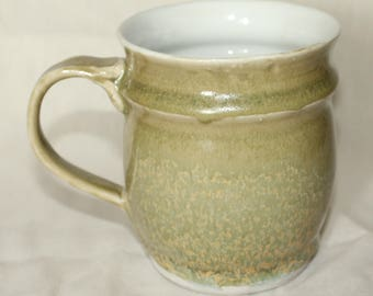 Green and Yellow Mug