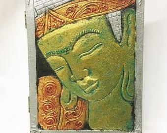 Beautiful Buddha Box, Handcrafted in Mas, Bali, Indonesia