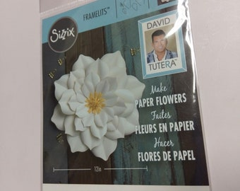 Sizzix Framelits Dies Large Lily 5 Dies 562397 By David Tutera New